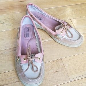 Leather Women's Sperry Boat Shoe Size 5M